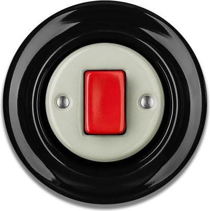 Porcelain switches - a single key - FAT ()  - ROBUS | Katy Paty