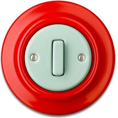 Porcelain switches - a single key - SLIM ()  - ROBUS | Katy Paty