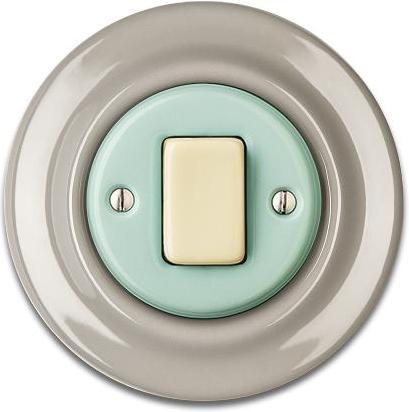 Porcelain switches - a 1 key - FAT ()  - ROBUS | Katy Paty