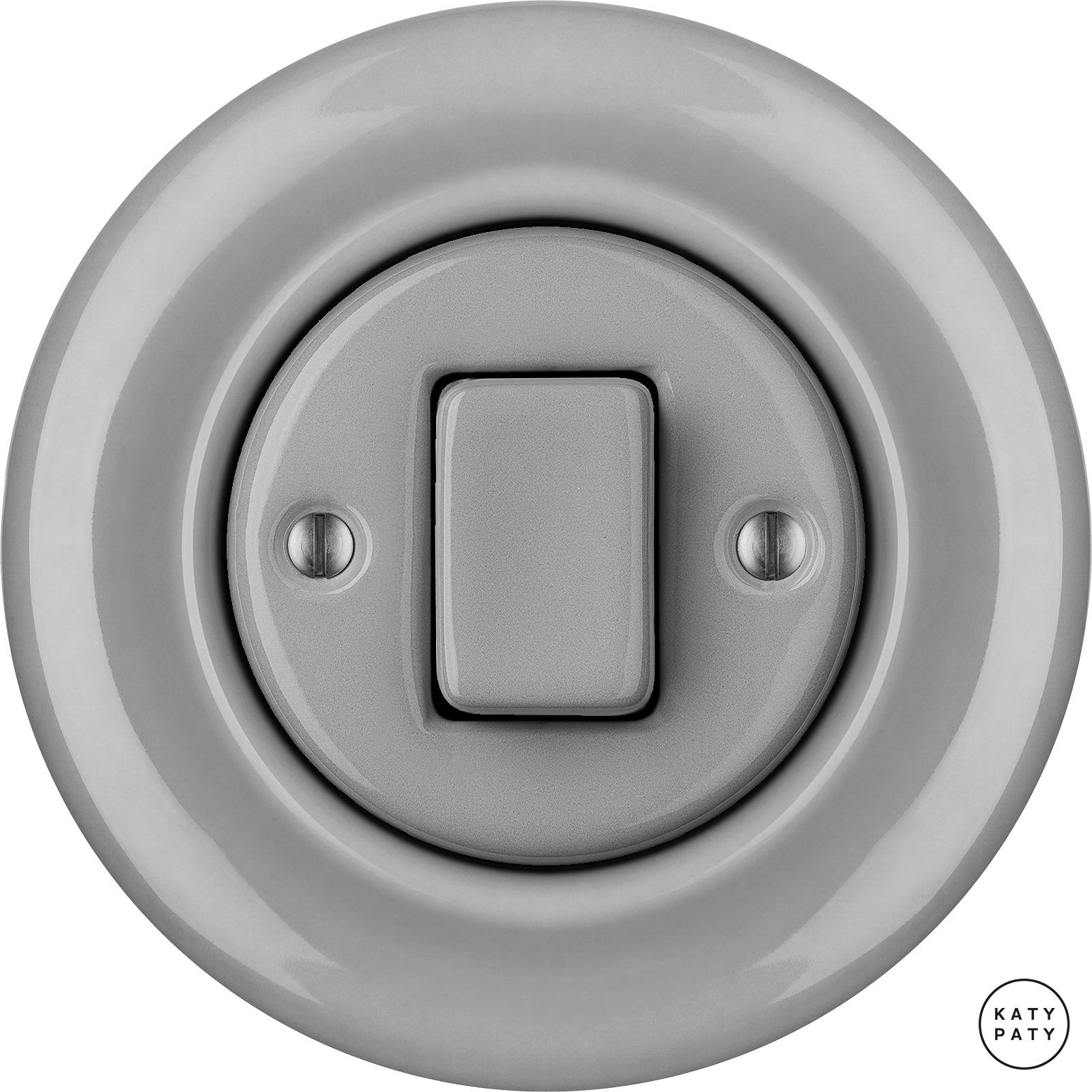 Porcelain switches - a 1 key - FAT ()  - CANA | Katy Paty