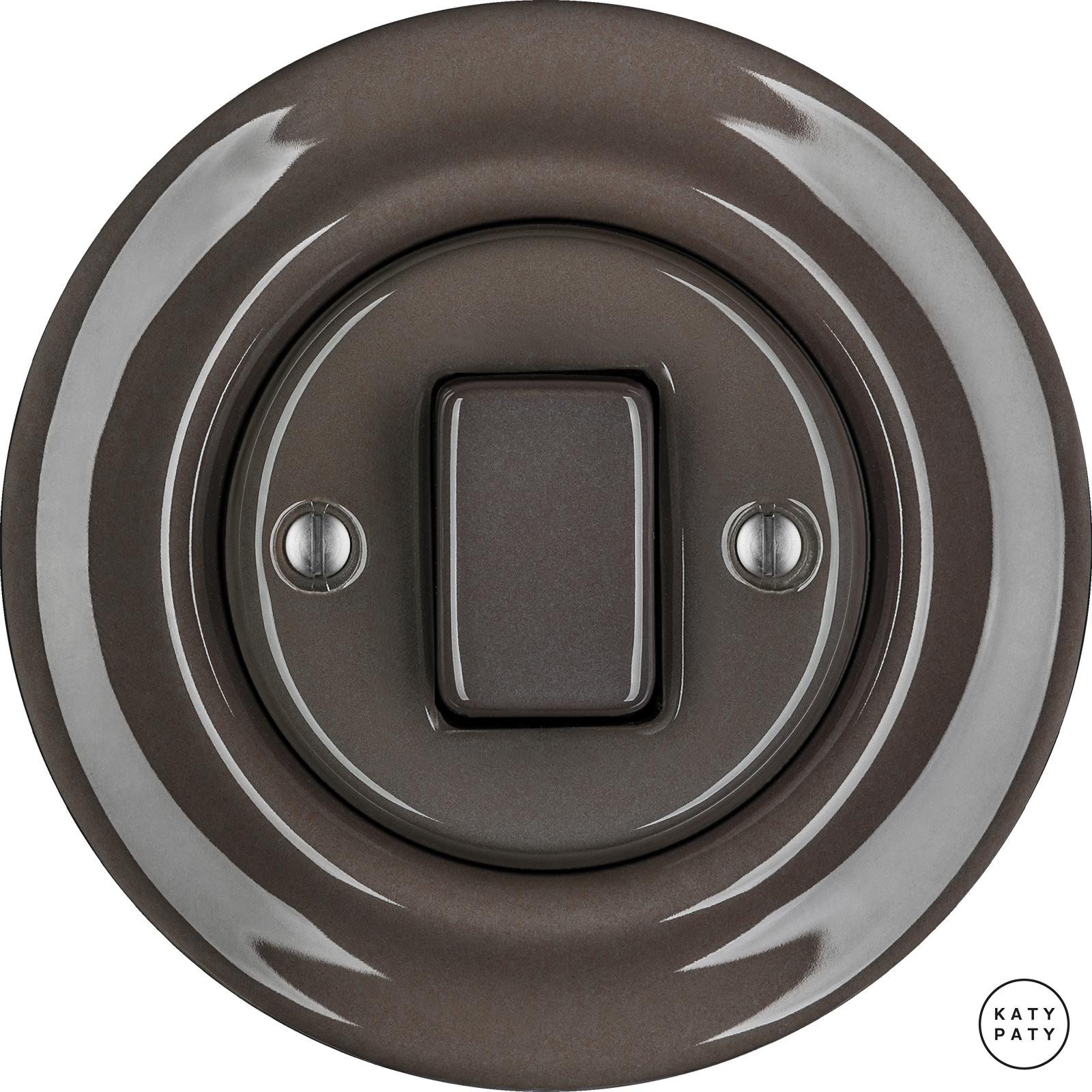 Porcelain switches - a single key - FAT ()  - BRUNETUM | Katy Paty
