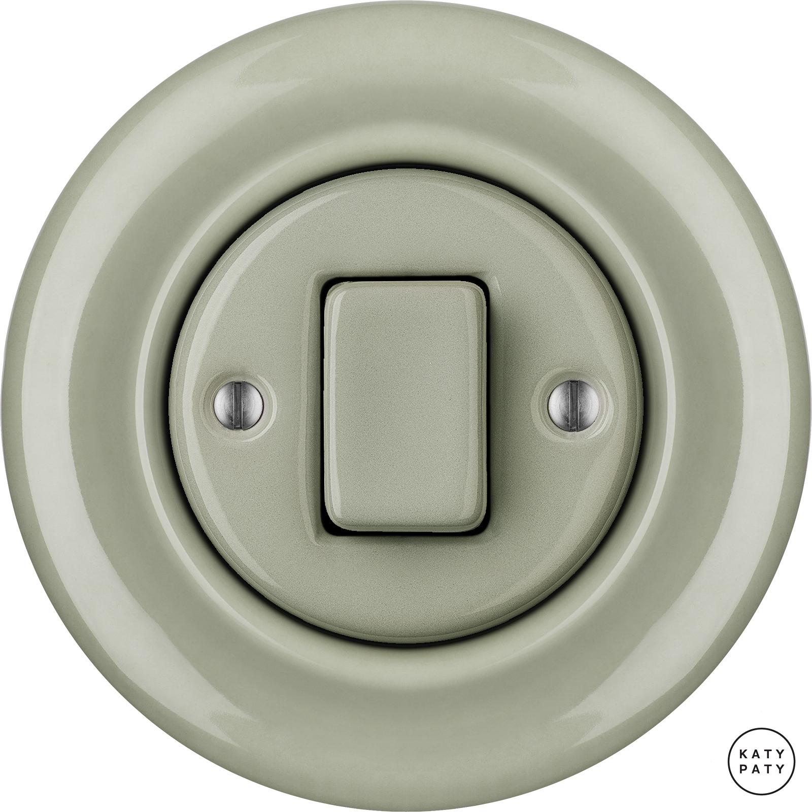 Porcelain switches - a 1 key - FAT ()  - CHLORA | Katy Paty