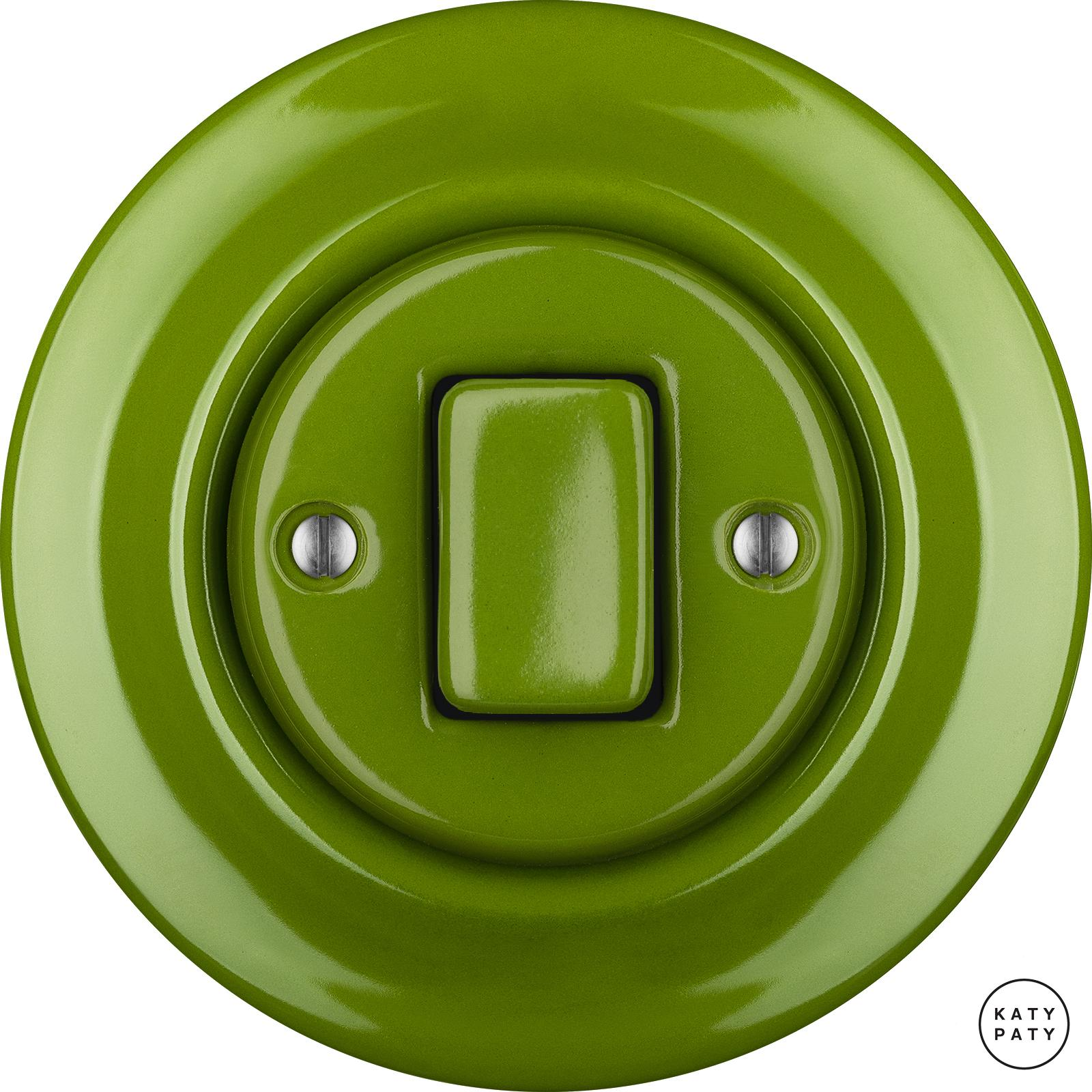 Porcelain switches - a single key - FAT ()  - NITOR CHLORA | Katy Paty