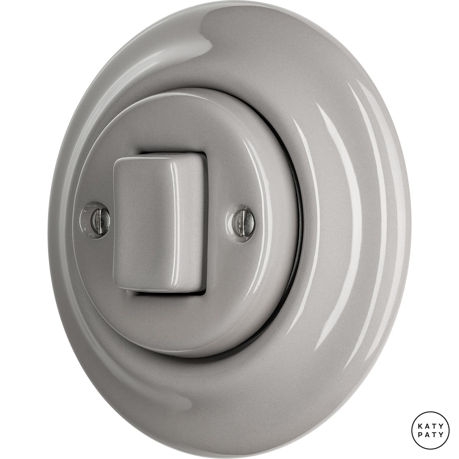 Porcelain switches - a single key - FAT ()  - LUCIDUM | Katy Paty