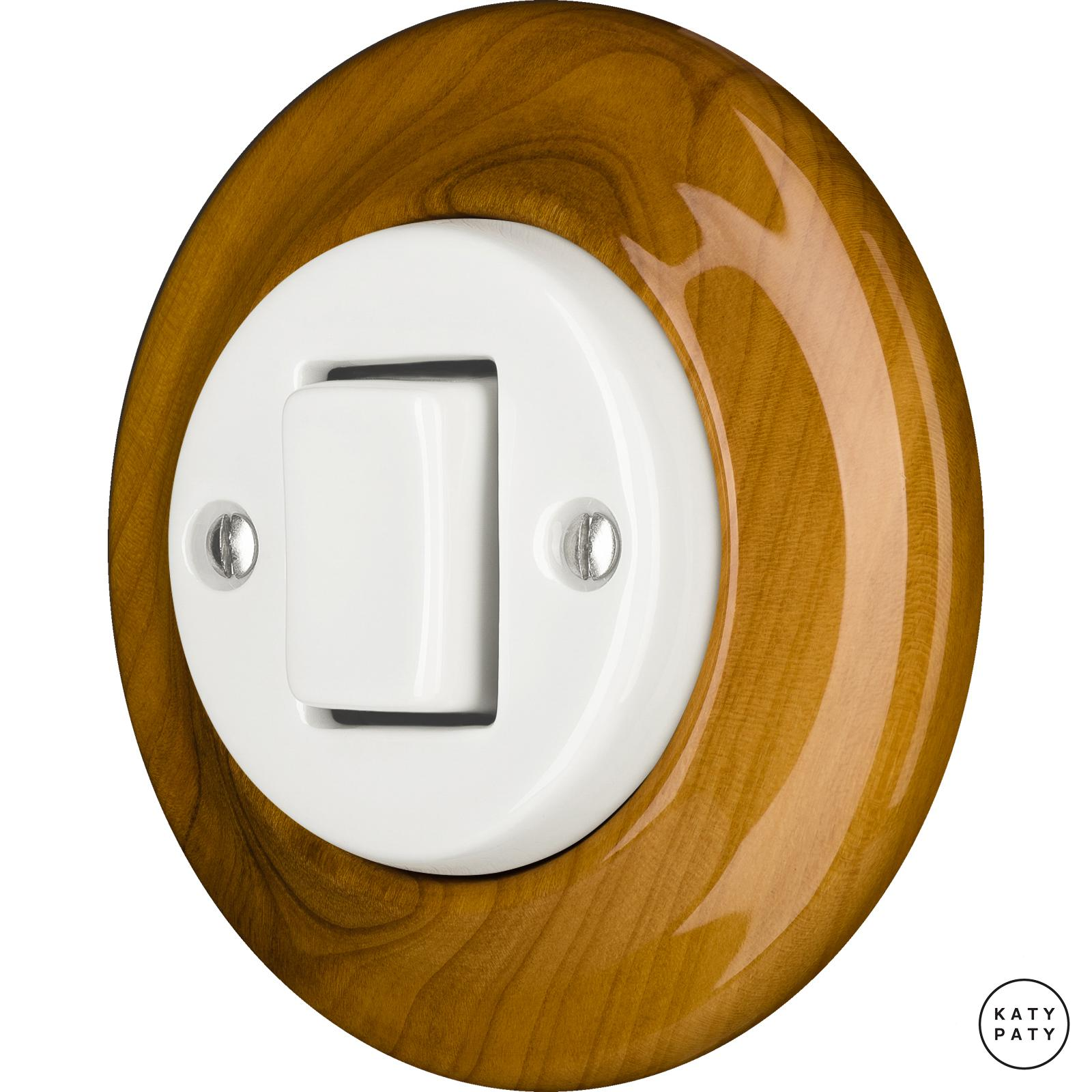 Porcelain switches - a 1 key - FAT ()  - PADELUS | Katy Paty