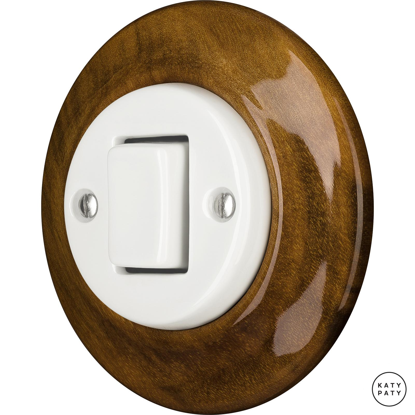 Porcelain switches - a single key - FAT ()  - NUC MAG | Katy Paty