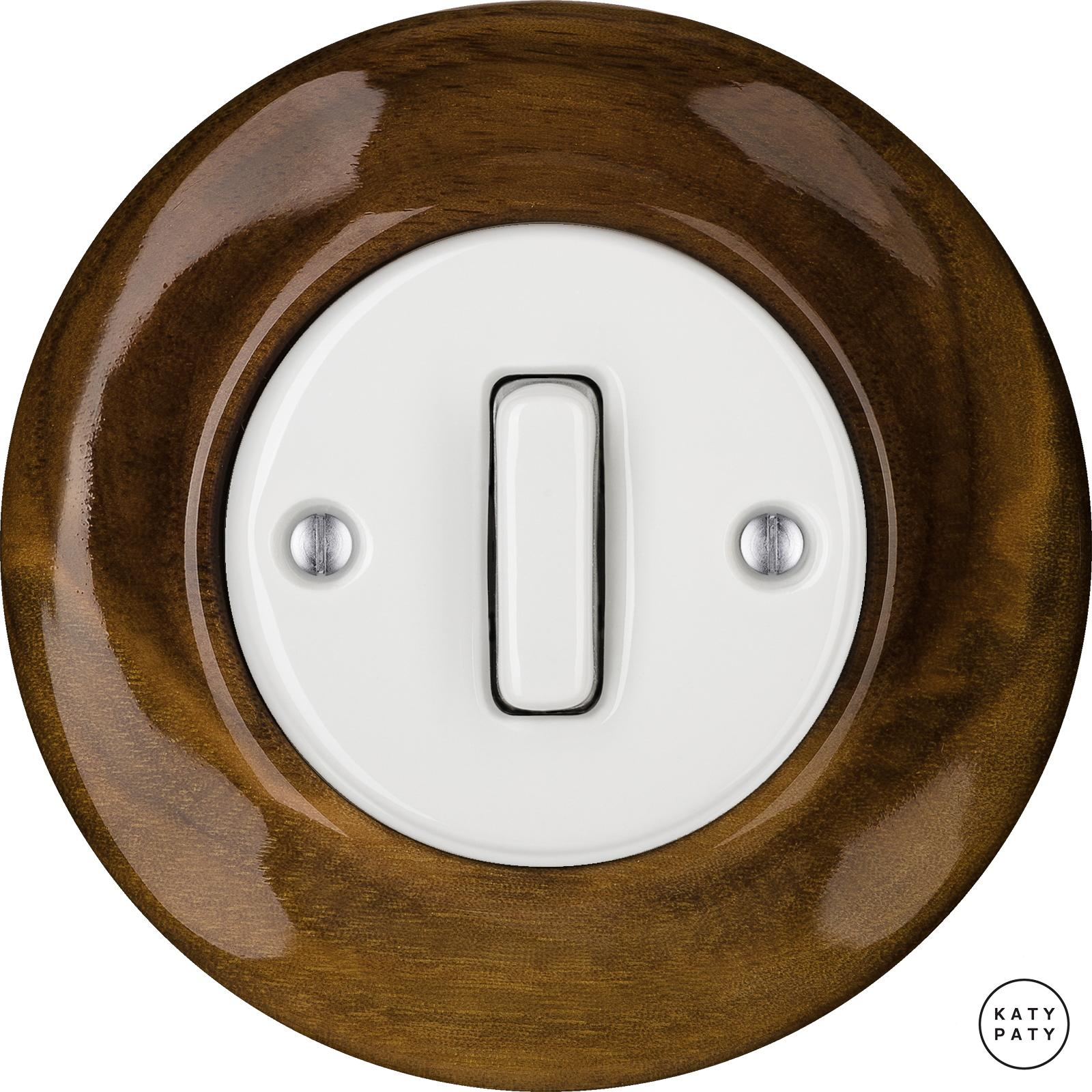 Porcelain switches - a single key - SLIM ()  - NUC MAG | Katy Paty
