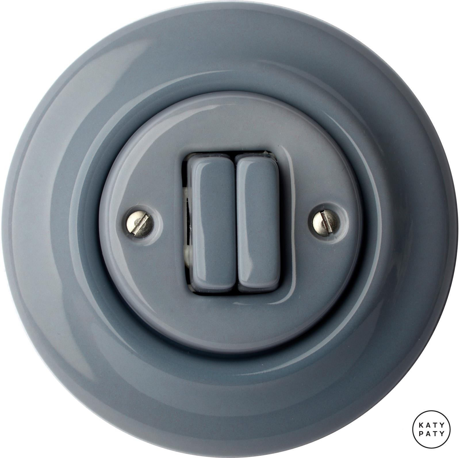 Katy Paty | Porcelain switches - a double key ()  - COLUMBA