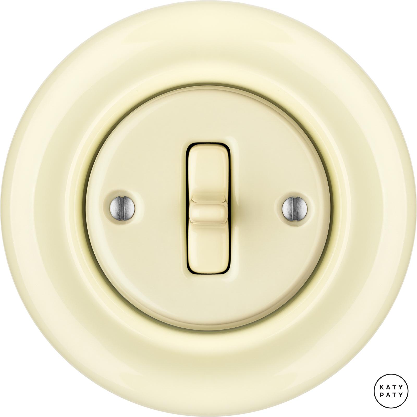Porcelain Toggle switches - 1 gang ()  - PNOE FLAVA | Katy Paty