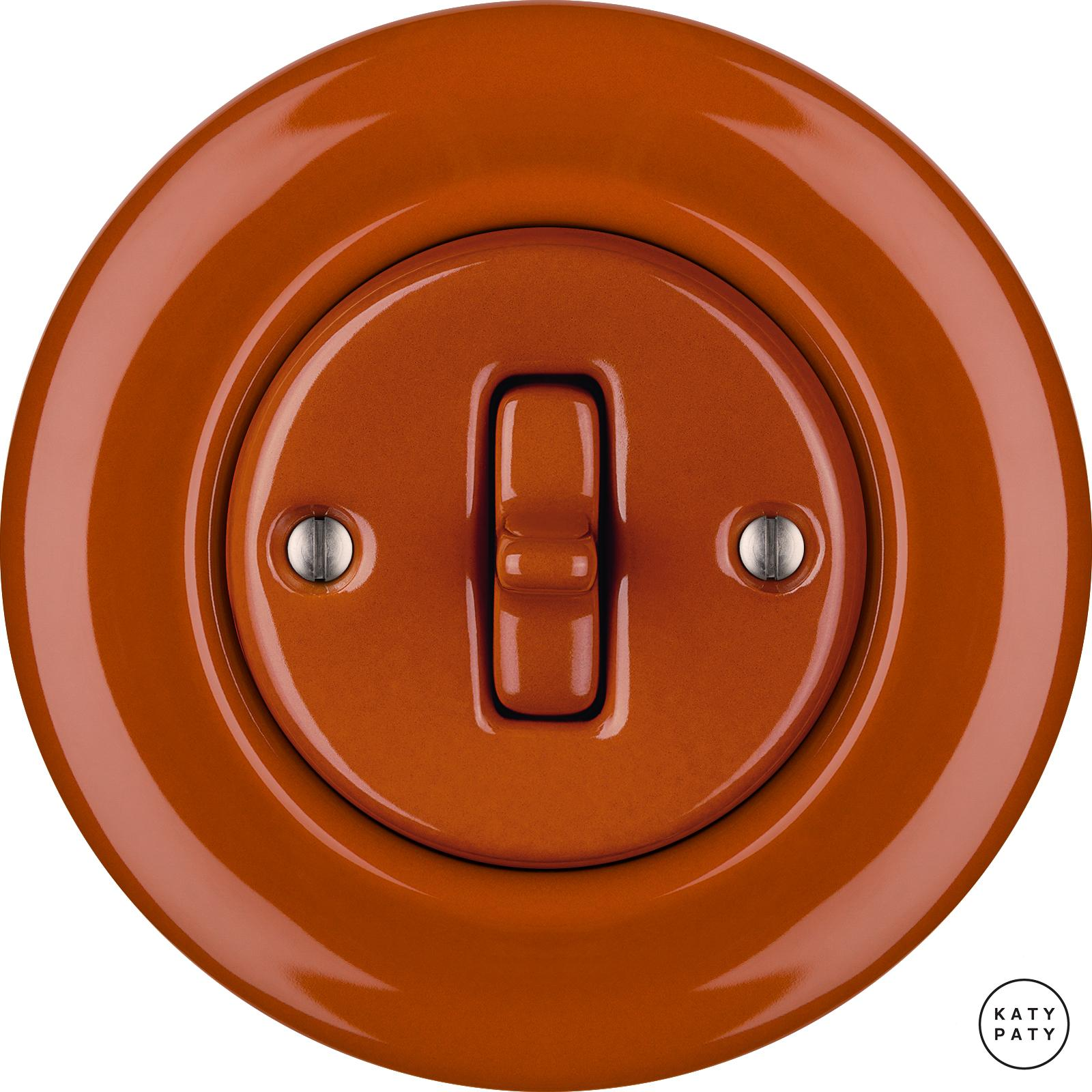 Porcelain Toggle switches - a single key ()  - AURANTIA | Katy Paty