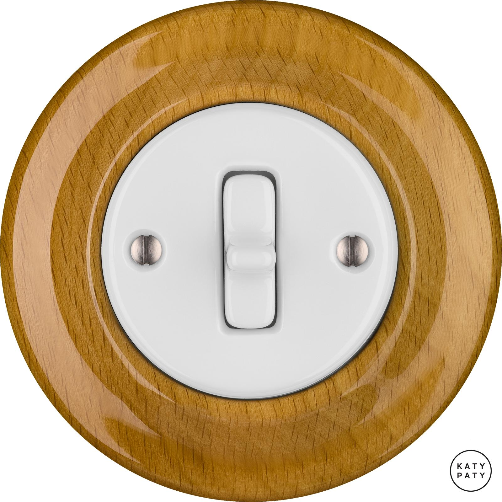 Porcelain Toggle switches - a single key ()  - FAGUS | Katy Paty