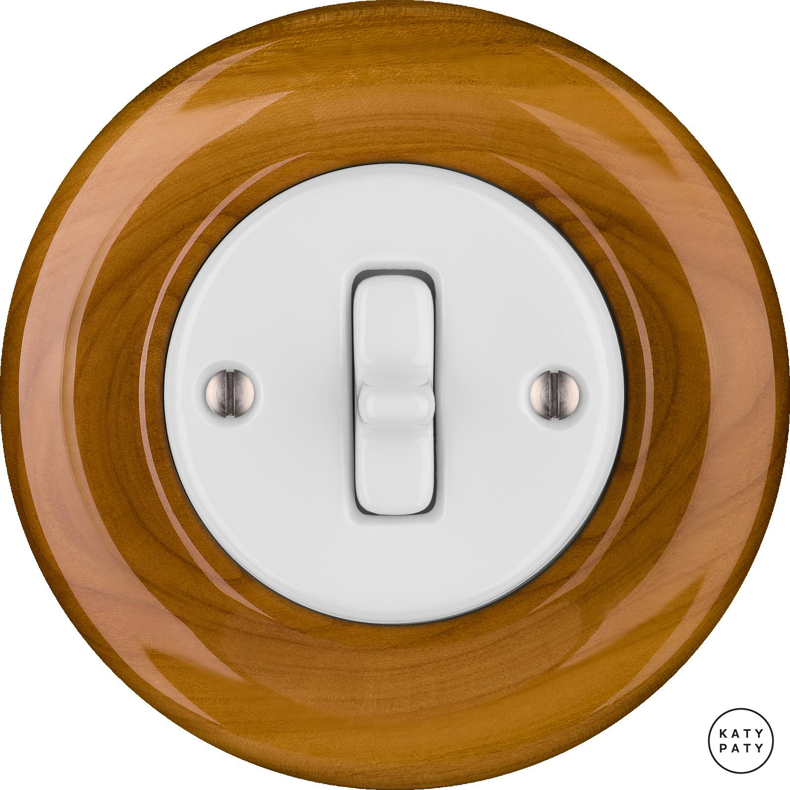 Porcelain Toggle switches - 1 gang ()  - PADELUS | Katy Paty