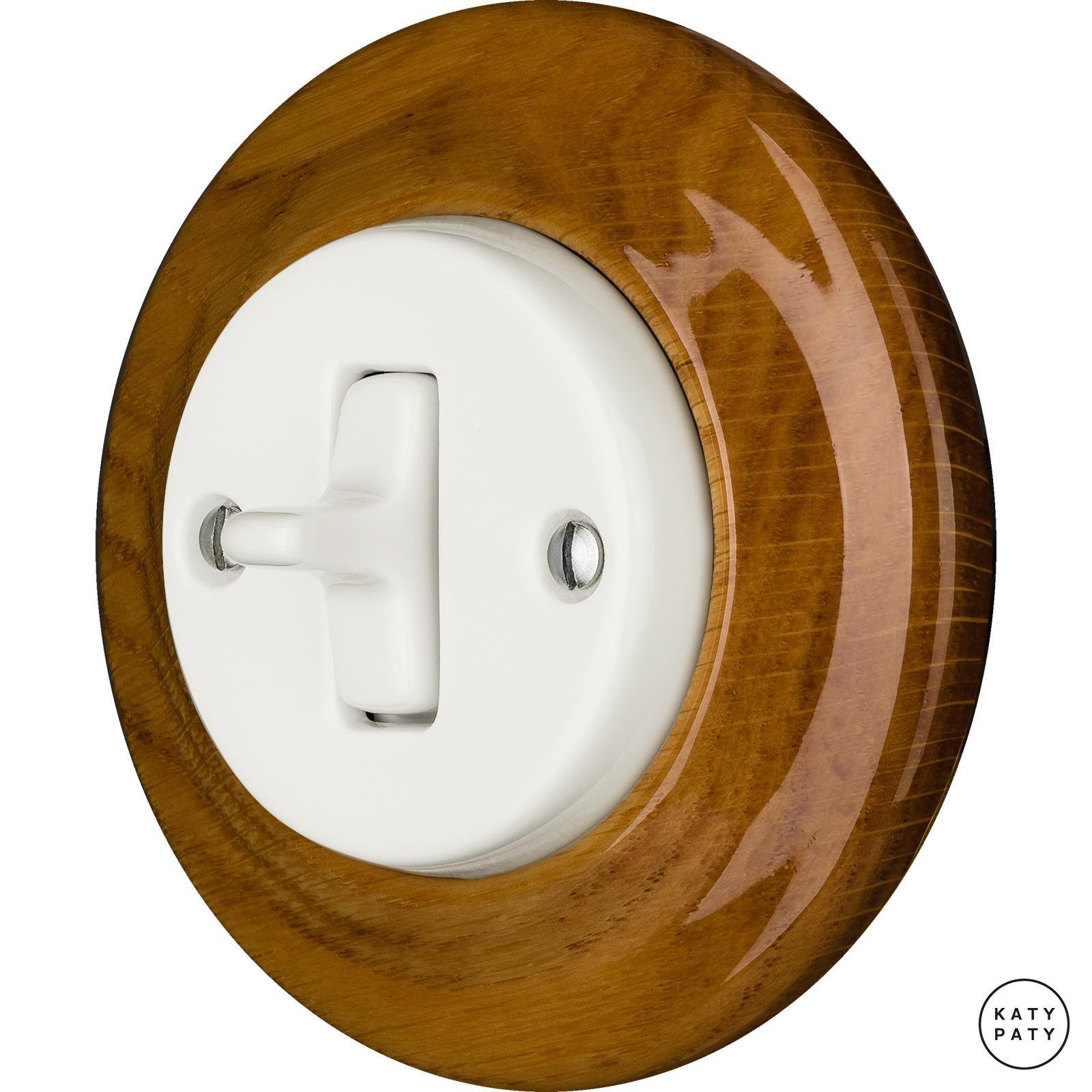 Porcelain Toggle switches - 1 gang ()  - ROBUS | Katy Paty