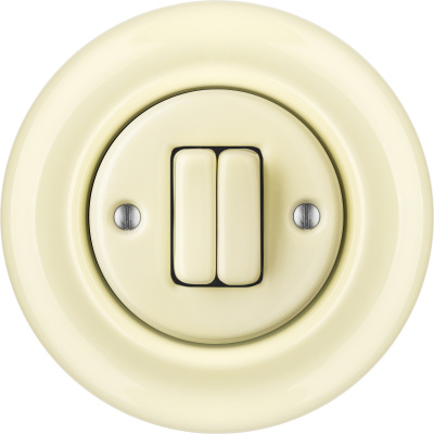 Porcelain switches - a double key ()  - PNOE FLAVA | Katy Paty