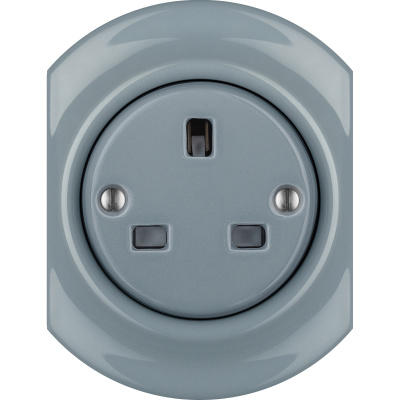 Porcelain sockets British Standard - multiple X ()  - LIVOR | Katy Paty