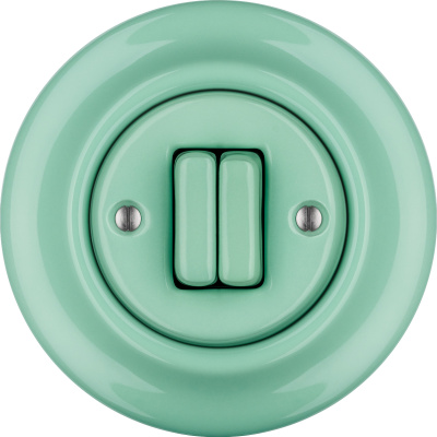 Porcelain switches - a double key ()  - PNOE MENTOL | Katy Paty