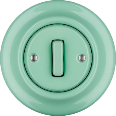 Porcelain switches - a single key - SLIM ()  - PNOE MENTOL | Katy Paty