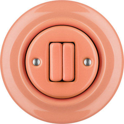 Porcelain switches - a double key ()  - PNOE SALMO | Katy Paty