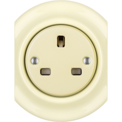 Porcelain sockets British Standard - multiple X ()  - PNOE FLAVA | Katy Paty