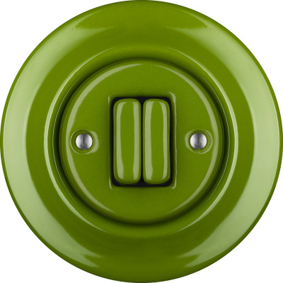 Porcelain switches - a double key ()  - NITOR CHLORA | Katy Paty