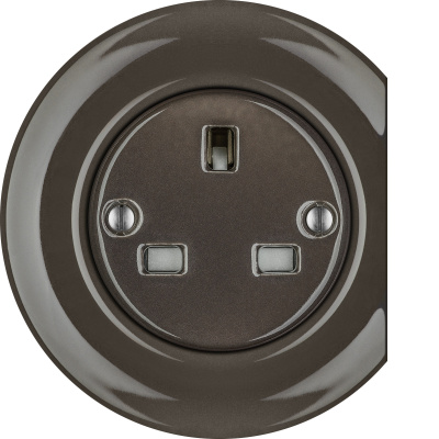 Porcelain sockets British Standard - multiple X ()  - BRUNETUM | Katy Paty