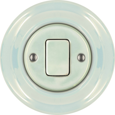 Porcelain switches - a 1 key - FAT ()  - CONCHA | Katy Paty