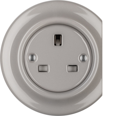 Porcelain sockets British Standard - multiple X ()  - LUCIDUM | Katy Paty