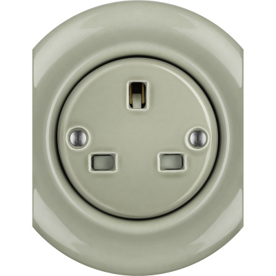 Porcelain sockets British Standard - multiple X ()  - CHLORA | Katy Paty