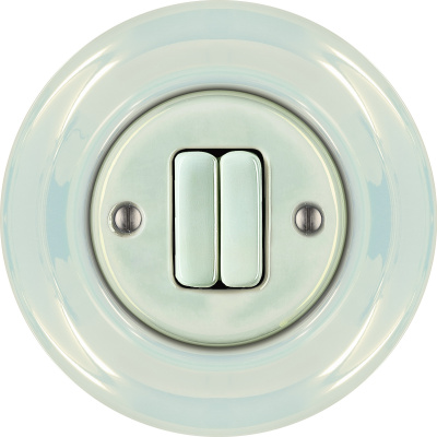 Porcelain switches - a double key ()  - CONCHA | Katy Paty