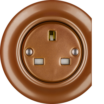 Porcelain sockets British Standard - multiple X ()  - CUPRUM | Katy Paty