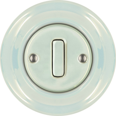 Porcelain switches - 1 gang - SLIM ()  - CONCHA | Katy Paty