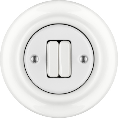 Porcelain switches - a double key ()  - ALBA | Katy Paty
