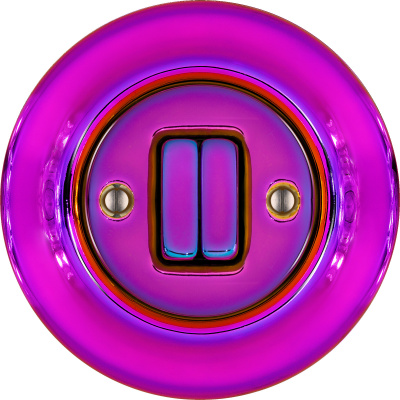 Porcelain switches - a double key ()  - VIOLEDO | Katy Paty