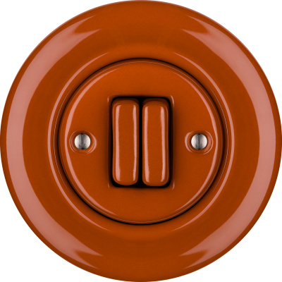 Porcelain switches - a double key ()  - AURANTIA | Katy Paty