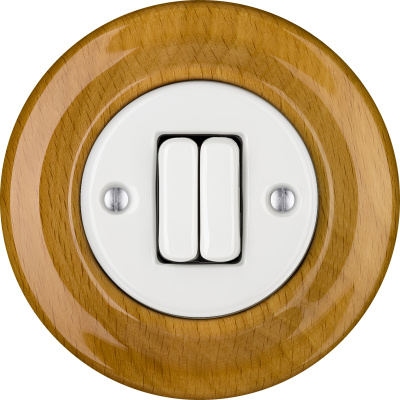 Porcelain switches - a double key ()  - FAGUS | Katy Paty