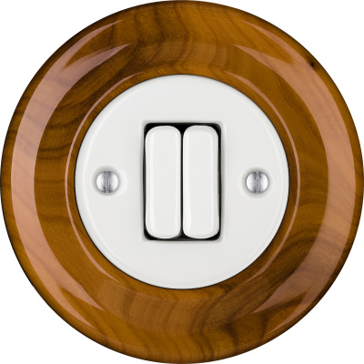 Porcelain switches - a double key ()  - PADELUS | Katy Paty