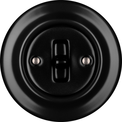 Porcelain Toggle switches - a single key ()  - NIGRA MAT | Katy Paty