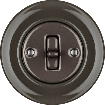 Porcelain Toggle switches - a single key ()  - BRUNETUM | Katy Paty