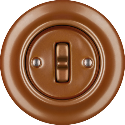 Porcelain Toggle switches - a single key ()  - CUPRUM | Katy Paty