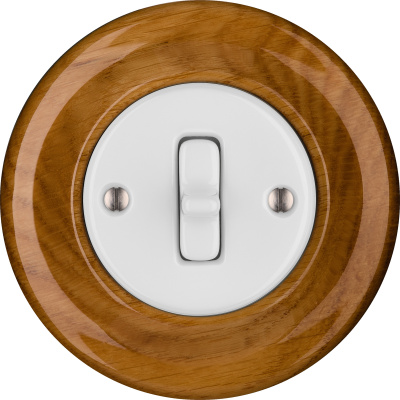 Porcelain Toggle switches - a single key ()  - ROBUS | Katy Paty