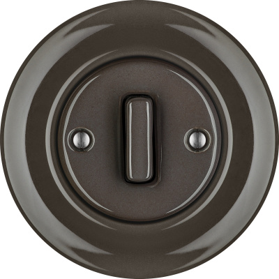 Porcelain switches - a single key - SLIM ()  - BRUNETUM | Katy Paty