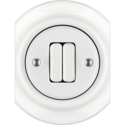 Porcelain switches - a double key - multiple X ()  - ALBA | Katy Paty