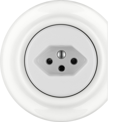 Porcelain sockets Swiss Norm - multiple X ()  - ALBA | Katy Paty
