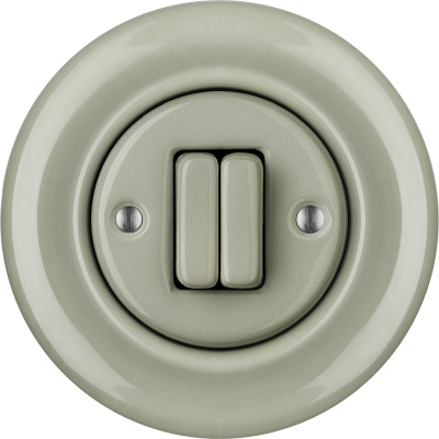 Porcelain switches - a double key ()  - CHLORA | Katy Paty