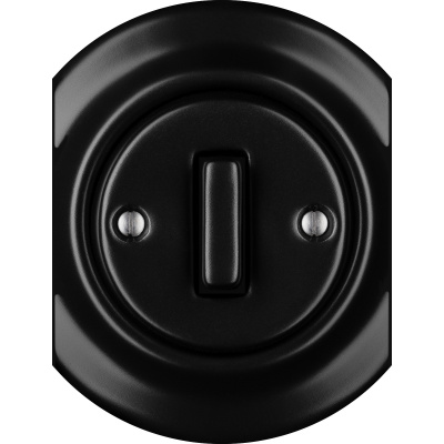 Porcelain switches - a single key - SLIM - multiple X ()  - NIGRA MAT | Katy Paty