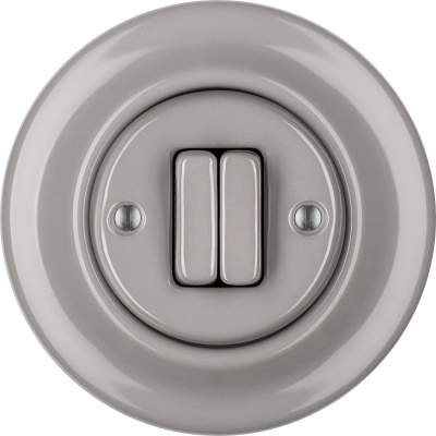 Porcelain switches - a double key ()  - LUCIDUM | Katy Paty