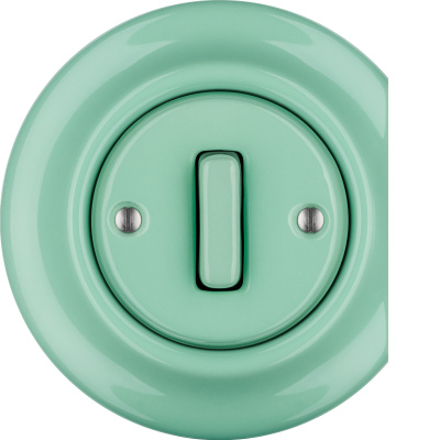 Porcelain switches - a single key - SLIM - multiple X ()  - PNOE MENTOL | Katy Paty