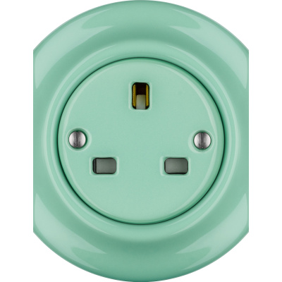 Porcelain sockets British Standard - multiple X ()  - PNOE MENTOL | Katy Paty